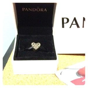Pandora Charm Heart of Winter
